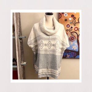 Sonoma | Cowl Neck Short Sleeve Sweater | S/M